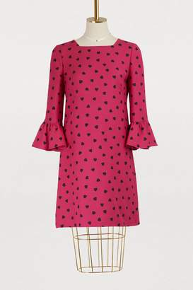 Valentino Heart printed dress