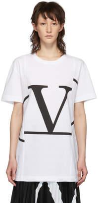 Valentino White VLogo T-Shirt