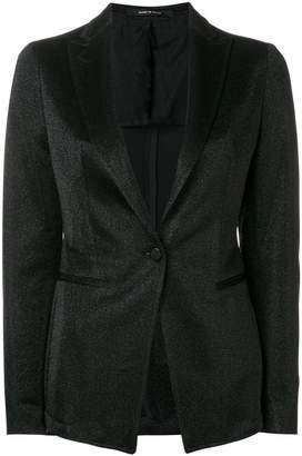 Tagliatore glitter single-breasted blazer