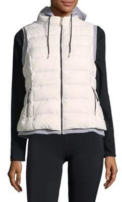 Calvin Klein Contrast-Layer Down-Filled Vest