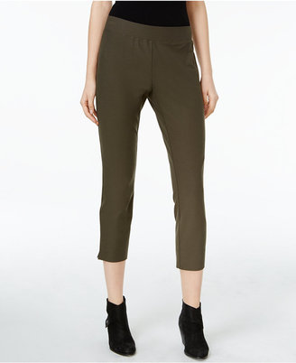 Eileen Fisher Washable Stretch Crepe Slim-Fit Cropped Pants, Regular & Petite $158 thestylecure.com