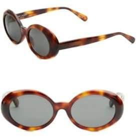 Saint Laurent 53MM Oval Sunglasses