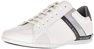 HUGO BOSS BOSS Green Men's Space Low Perforated Leather Sneaker