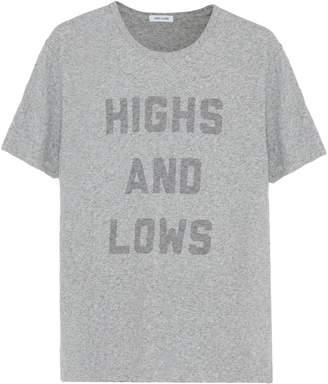 Hiro Clark 'Highs and Lows' slogan print unisex T-shirt