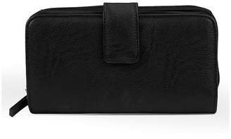 Mundi Big Fat Better Than Leather Safe Keeper Tab Checkbook Wallet