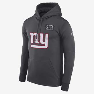 Nike Dri-FIT Therma Crucial Catch (NFL Giants) Men's Pullover Hoodie