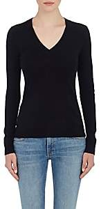 Barneys New York Women's Cashmere V-Neck Sweater - Black