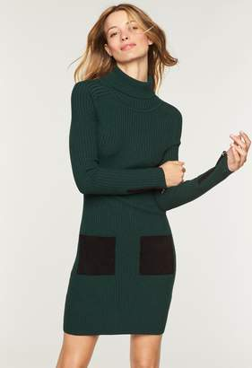 Milly Rib Suede Pocket Dress