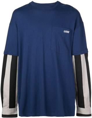 Lanvin removable sleeve sweatshirt