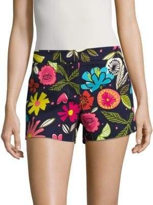 Trina Turk Tropical Print Shorts