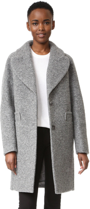 Carven Wool Coat $790 thestylecure.com