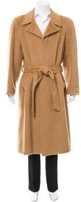 Hermes Deconstructed Alpaca Overcoat