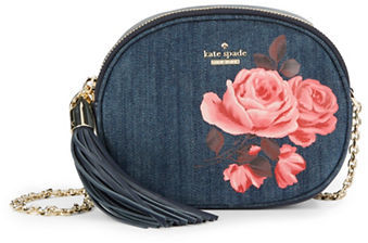 Kate Spade Kate Spade New York Tinley Denim Shoulder Bag