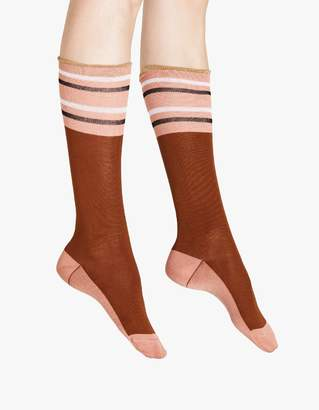 Marni Sock in Raisin Cotton and Nylon