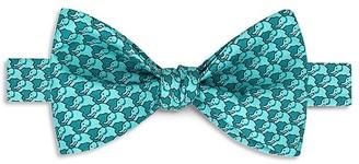 Thomas Pink Elephant Geo Print Bow Tie $95 thestylecure.com