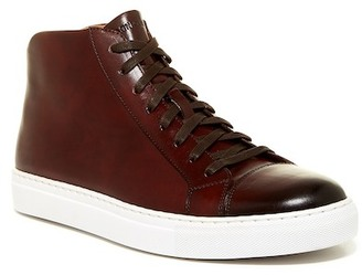 Magnanni Mack Mid Cap Toe Sneaker $350 thestylecure.com