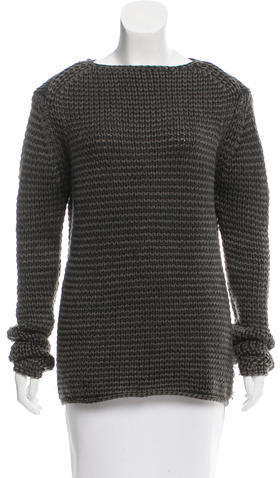 Alexander WangAlexander Wang Crew Neck Wool Sweater