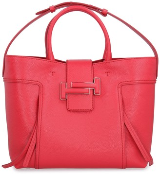 Tod's Tods Double T Leather Tote