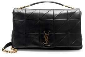 Saint Laurent Mini Jamie Patchwork Leather Shoulder Bag