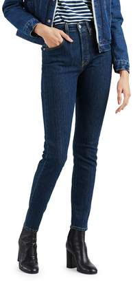 Levi's 501 High-Rise Skinny Jeans Above Water