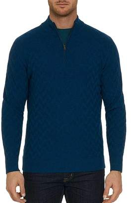 Robert Graham Rowley Chevron-Stitch Sweater