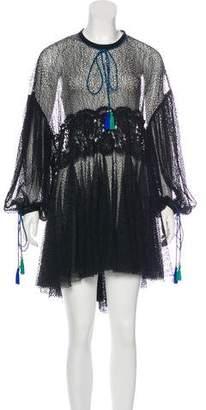 Philosophy di Lorenzo Serafini Long Sleeve Lace Dress w/ Tags