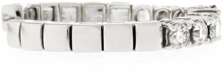 Roberto Coin Spring Diamond Ring, White Gold, Size 6.5, 0.75 TCW