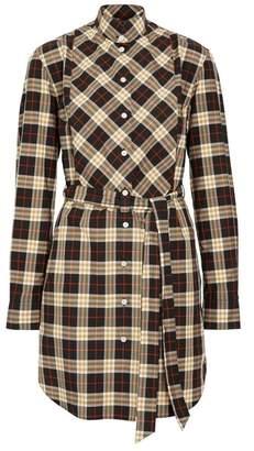 Burberry Check Cotton Tie