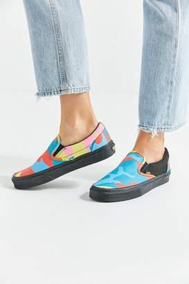 Vans Neon Camo Slip-On Sneaker
