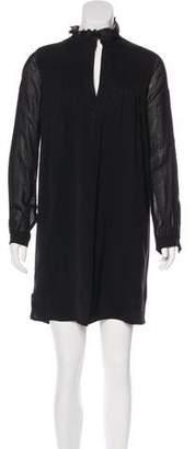Derek Lam Pleated Mini Dress