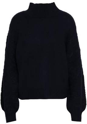 Joie Cable-Knit Wool-Blend Turtleneck Sweater