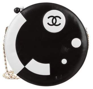 Chanel Lambskin Disc Bag