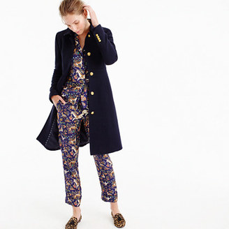 Lady day coat with gold buttons $365 thestylecure.com