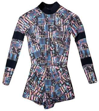 Cynthia Rowley Madras Print Wetsuit