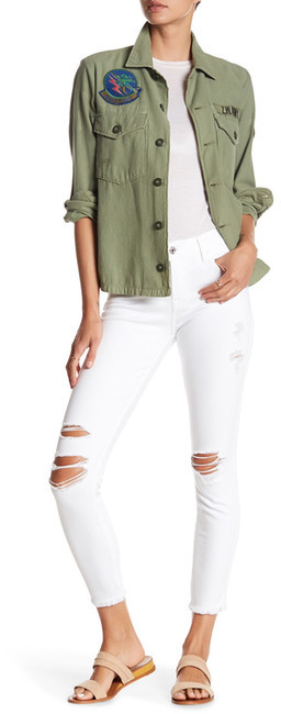 7 For All Mankind7 For All Mankind Gwenevere Destroyed Ankle Jean