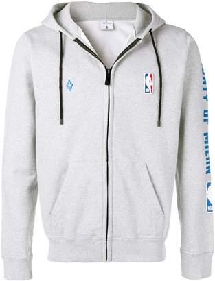 Marcelo Burlon County of Milan zip front logo hoodie