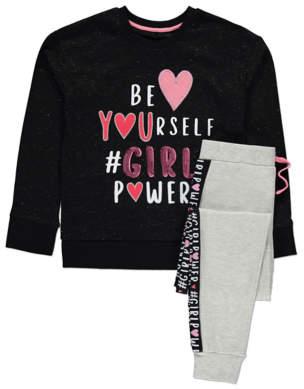 George Girl Power Sequin Pyjamas