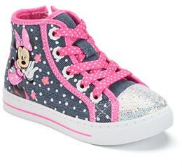 Disney's Minnie Mouse Toddler Girls' High-Top Sneakers $39.99 thestylecure.com