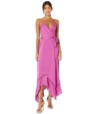 BCBGMAXAZRIA Asymmetrical Hem Dress