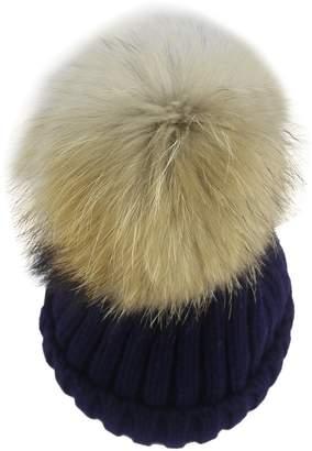 0f3e5bb0699d4 minakolife Thermal Winter Fur Hat Fox Raccoon Fur Ball(5