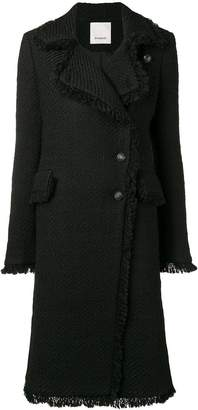 Pinko classic single-breasted coat