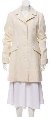 Tahari Wool Notch-Lapel Coat