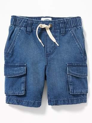 Old Navy Denim Pull-On Cargo Shorts for Toddler Boys