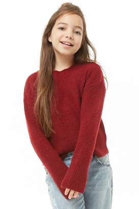Forever 21 Girls Brushed Knit Sweater (Kids)
