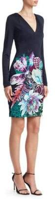 Roberto Cavalli Floral Bodycon Dress
