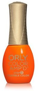 Orly Color Amp'd Flexible Color Nail Polish - Sunset Strip