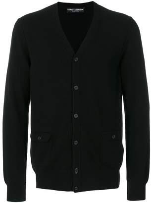 Dolce & Gabbana V neck cardigan