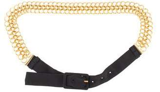 Prada Chain-Link Waist Belt