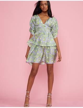 Cynthia Rowley Freida Puff Sleeve Dress