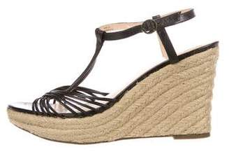 Paul Smith Leather Multristrap Wedges